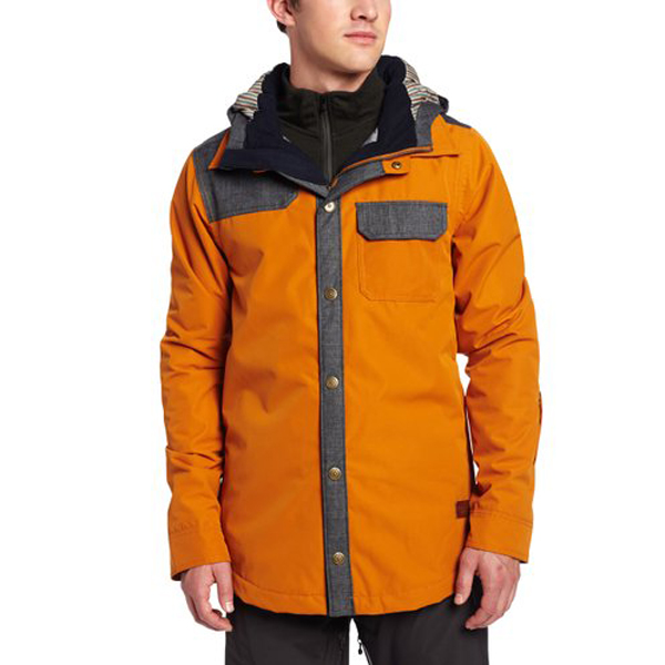 New Billabong Logs Jacket