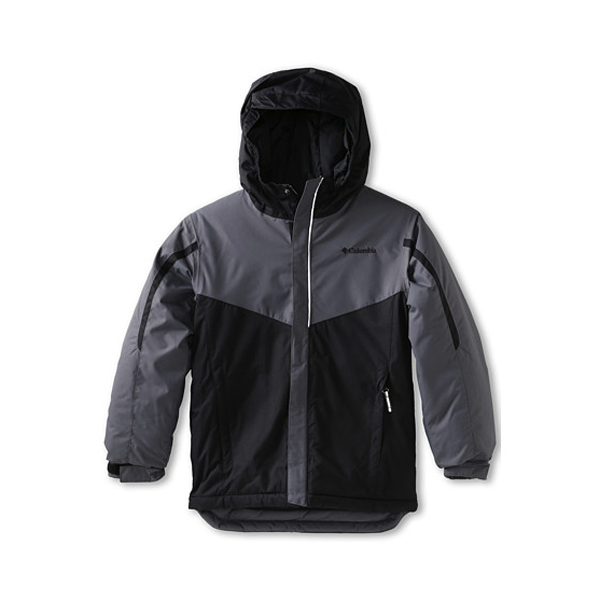 New Columbia Boys Stun Run Jacket Grey