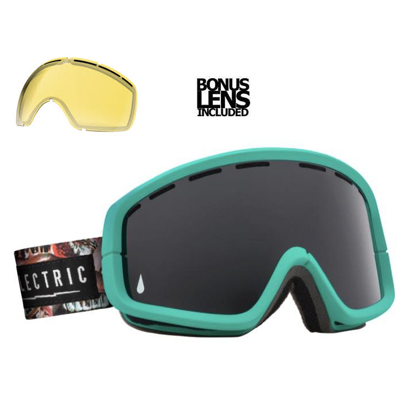 New Electric EGB2 Grills Jet Black Goggles