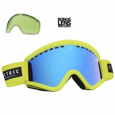 New Electric EGV Nukus Bronze Blue Chrome Goggles
