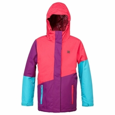 New Girls DC Shoes Fuse Jacket Bright Rose