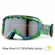 New Giro Grade Plus 2013 Green Monsterish Kids Goggles