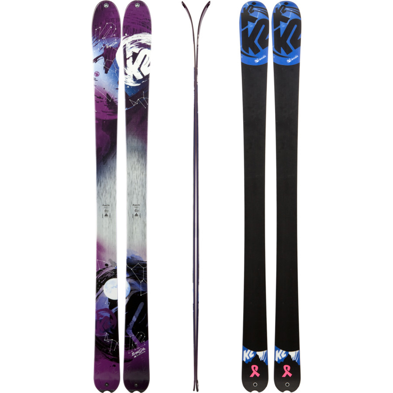 New K2 Brightside 2013 Women's Skis