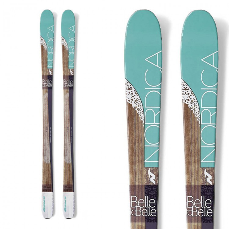 New Nordica Belle to Belle 2016 Women's Skis