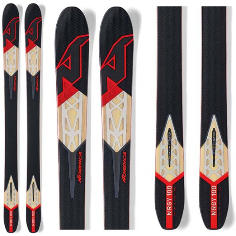 New Nordica NRGY 100 2016 Skis