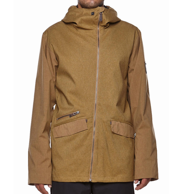 New Quiksilver Elevation Jacket Yellow
