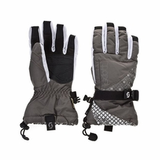New Scott Corbin Gloves Women Grey White