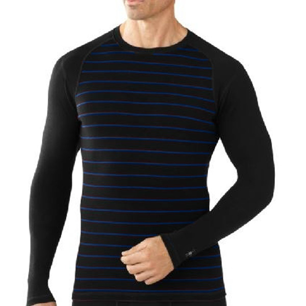 New Smartwool Midweight Pattern Crew Men's Baselayer