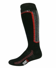 Point6 Ski Medium OTC Black Socks