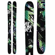 Sample 2012 Atomic Blog Skis Black Multi