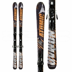 Sample 2012 Atomic Smoke Ti Skis Black Orange