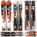 Used 2010 Elan Summit Series Apex Skis Red Silver
