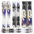 Used 2010 K2 Apache Force Skis Blue