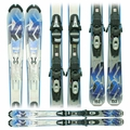 Used 2011 K2 Amp Rx Skis with Bindings blue