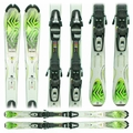 Used 2011 K2 Mammoth Mtn skis green