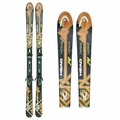 Used 2012 Head i.Peak 74 Skis with Bindings brown