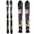Used Atomic Nomad Blackeye Ti 2015 Skis with Bindings