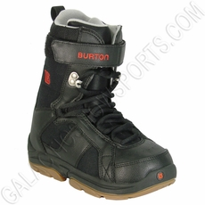 Used Burton Freestyle Snowboard Boots Junior Black