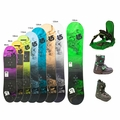 Used Burton Snowboard Boots and Bindings Junior Package Complete