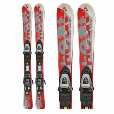 Used Fischer Heat Junior Skis with Bindings