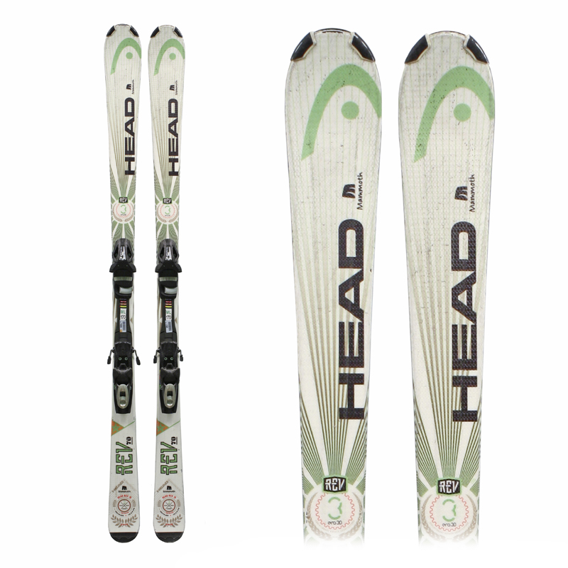 Used Head Rev 70 Skis with Bindings Bargain Bin