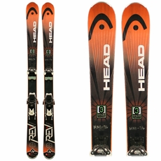 Used Head Rev 90 2015 Skis with Bindings