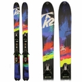 Used K2 SuperBright 102 2015 Women's Skis with Bindings