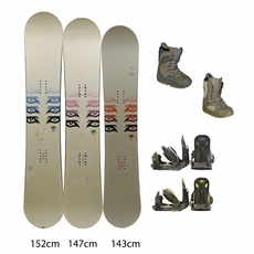 Used Nitro Snowboard with Burton Boots and Bindings Package Complete Women's