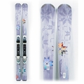 Used Performance 2014 Nordica Cinnamon Girl Skis with Bindings