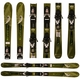 Used  Rossignol Bandit Skis Green