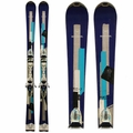 Used Rossignol Unique 6 2015 Women's Skis with Bindings