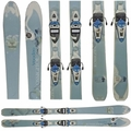 Used Rossignol Voodoo 74 Blue Skis