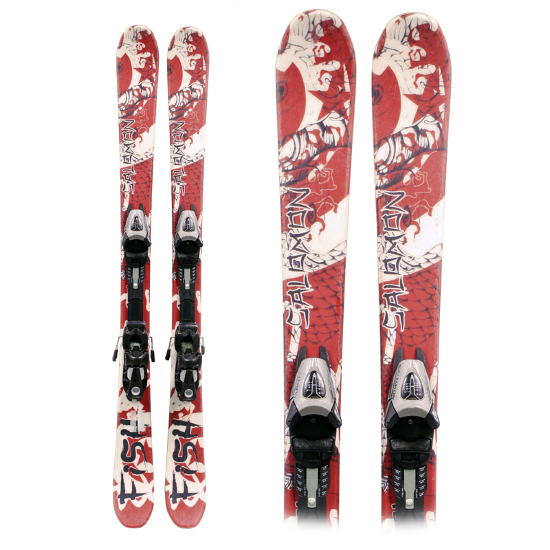 Used Salomon Fish Junior's Skis