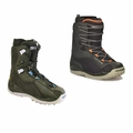 Used Salomon Kamooks Black Snowboard Boots