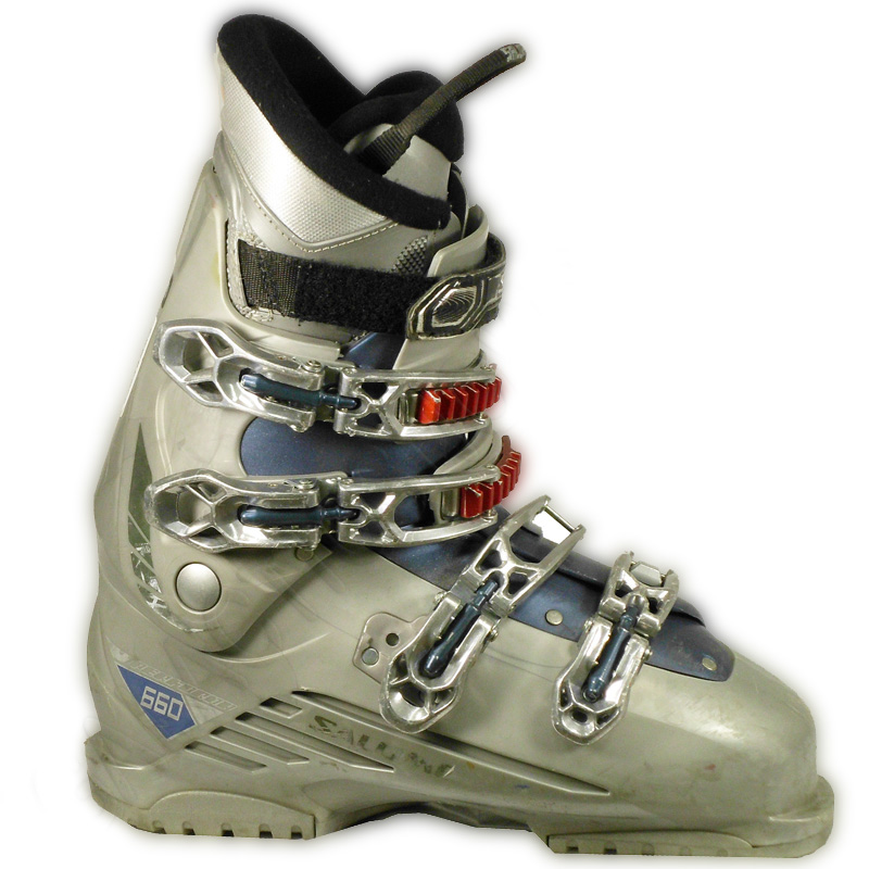 Used Salomon Performa 660 LOGO White Ski Boots