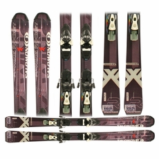 Used Salomon X-Wing Rocket Skis with Bindings