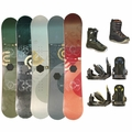 Used Snowboard with Boots and Bindings Package Complete