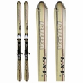 Used Volkl 724 AX3 Gamma Women's Skis White