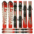 Used Volkl Tiger R1 Skis Red
