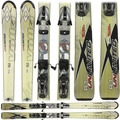Used Volkl Unlimited R1 Skis with Bindings