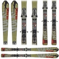 Used Volkl Unlimited Skis Gold Red