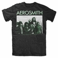 AEROSMITH AMERICA'S GREATEST RNR BAND MEN'S T-SHIRT