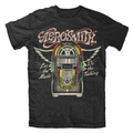 AEROSMITH LET THE MUSIC JUKEBOX MEN'S T-SHIRT