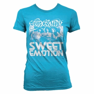 AEROSMITH SWEET EMOTION WOMEN'S TISSUE T-SHIRT