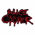 ALICE COOPER DRIPPY LOGO EMBROIDERED PATCH