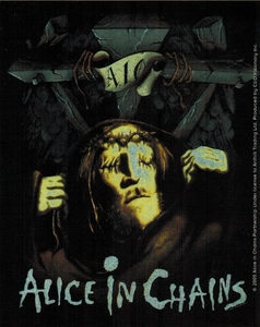 ALICE IN CHAINS MAN IN THE BOX STICKER