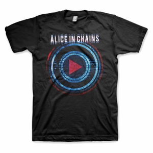 ALICE IN CHAINS PLAYED MEN'S T-SHIRT