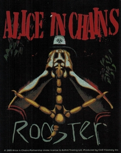ALICE IN CHAINS ROOSTER STICKER