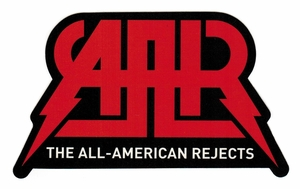 ALL AMERICAN REJECTS LOGO STICKER