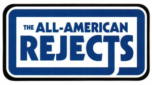 ALL AMERICAN REJECTS SIGN STICKER
